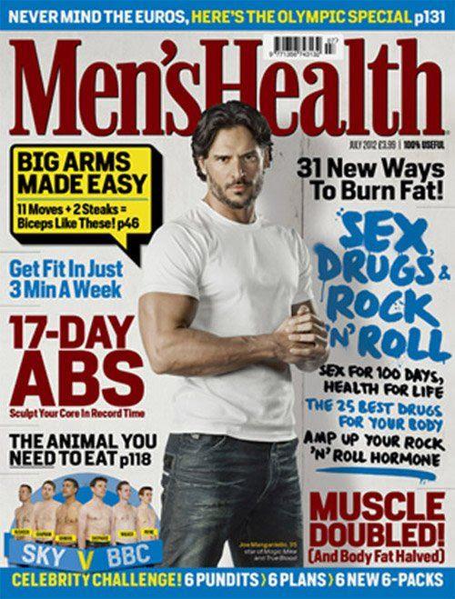 Men's Health UK - July 2012, Joe Manganiello