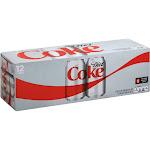 Diet Coke Soda - 12 pack, 12 fl oz cans