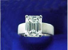 Emerald Cut Diamond Ring: 2.54 carat in Brushed Platinum Mounting   Diamond Source of Virginia