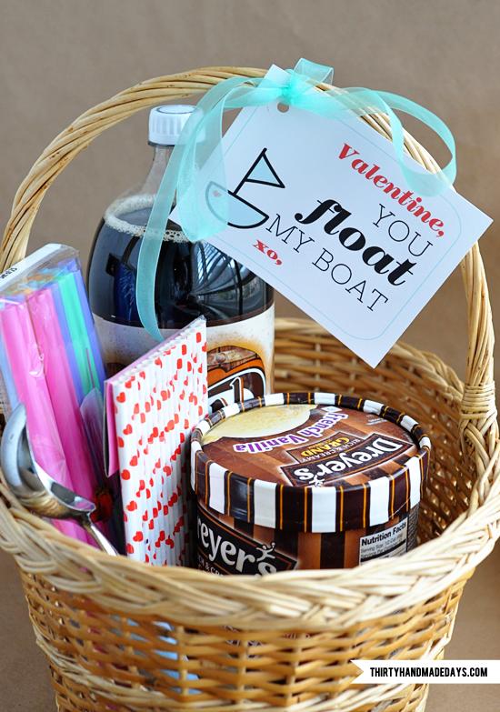 Valentines Root Beer Float Kit and Printable