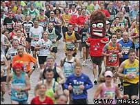 The fucking London Marathon
