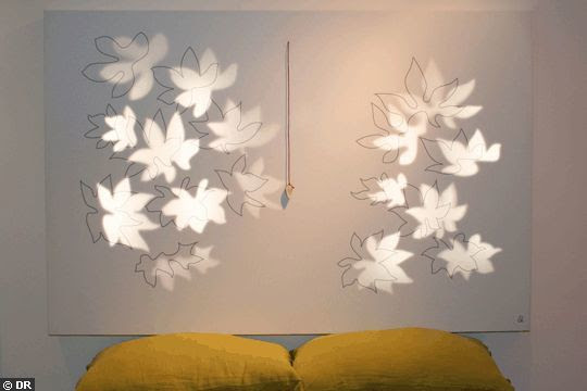 tete de lit lumineuse. Black Bedroom Furniture Sets. Home Design Ideas