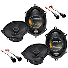 Harmony Audio Ford Ranger 1998-2011 Factory Speaker Replacement Harmony Package