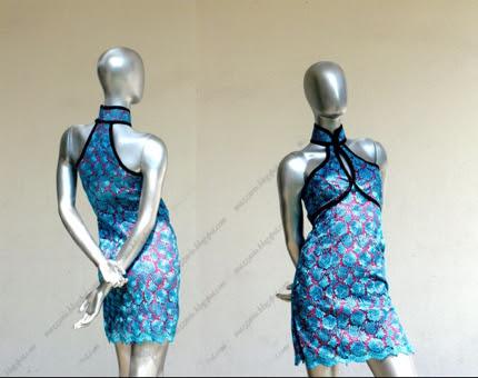 mazzario cheongsam singapore empire halter lace