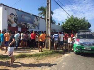 Homem mata ex-mulher por ciúmes em academia e tenta suicídio, diz PM (Foto: Divulgação/Polícia Militar)