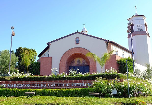 A igreja católica St. Martin of Tours (Foto: Getty Images)