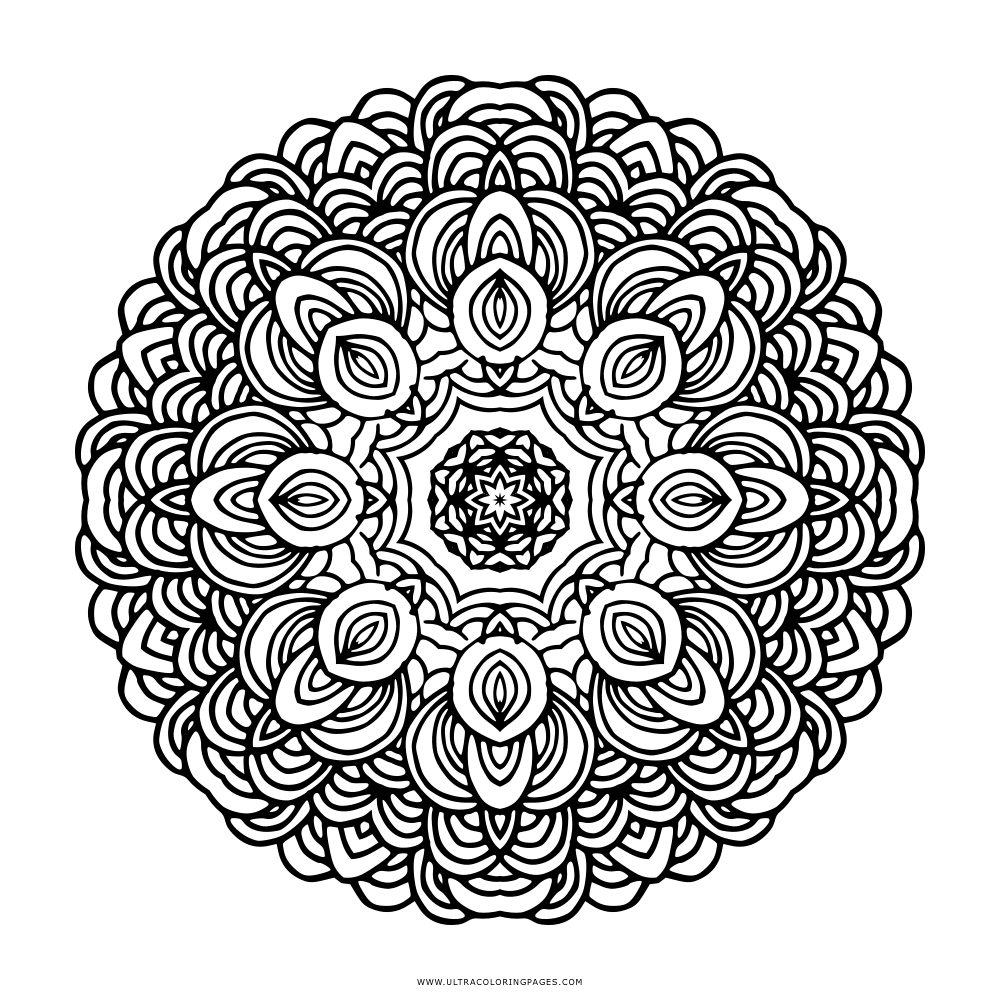mandala malvorlagen einhorn