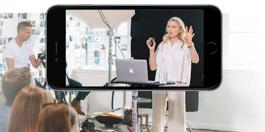CreativeLive mobile apps: iPhone, iPad and Apple TV