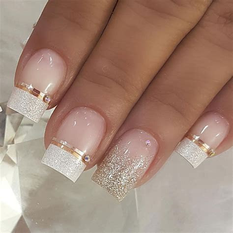 100 Beautiful wedding nail art ideas for your big day 1