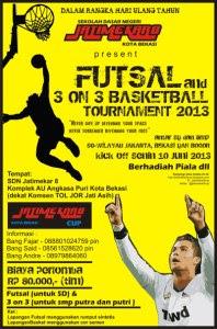 Undangan Futsal Dan On Basket Urnament Blognya Bang Fajar