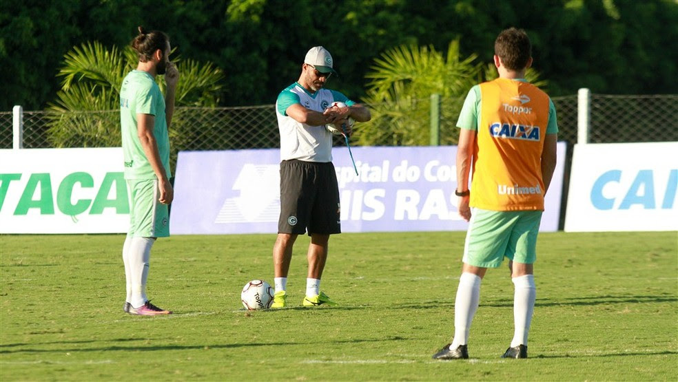 Goiás será comandado por Sérgio Soares na Série B (Foto: Rosiron Rodrigues / Goiás E.C.)