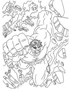 hulk005  printable coloring pages