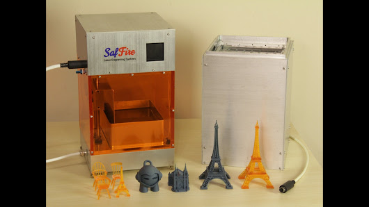SafFire: Galvo-Based SLA 3D Printer and Laser Engraver