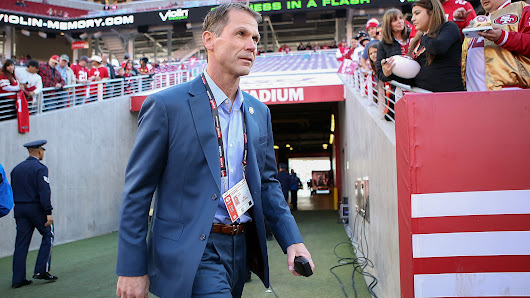 49ers GM Trent Baalke fired, escorted out of team headquarters