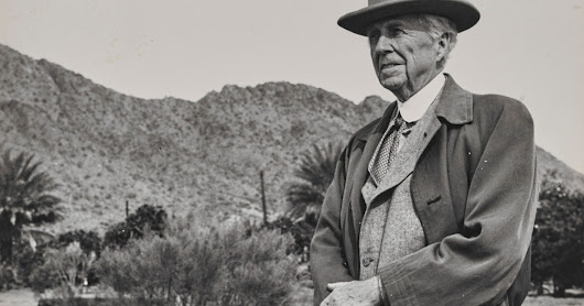 The Frank Lloyd Wright stuff: Revelations from the archive of America's favorite architect | Architecture | Dallas News
