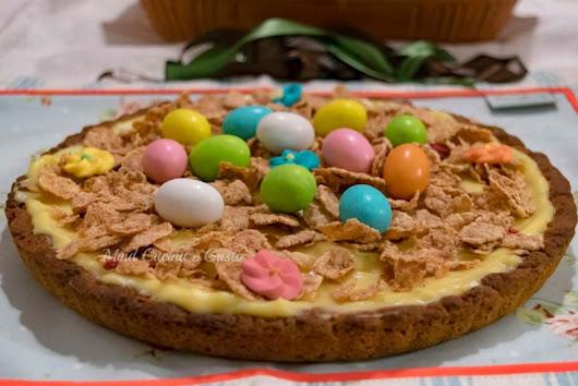 Crostata di Pasqua con crema pasticcera - Mind Cucina e Gusto
