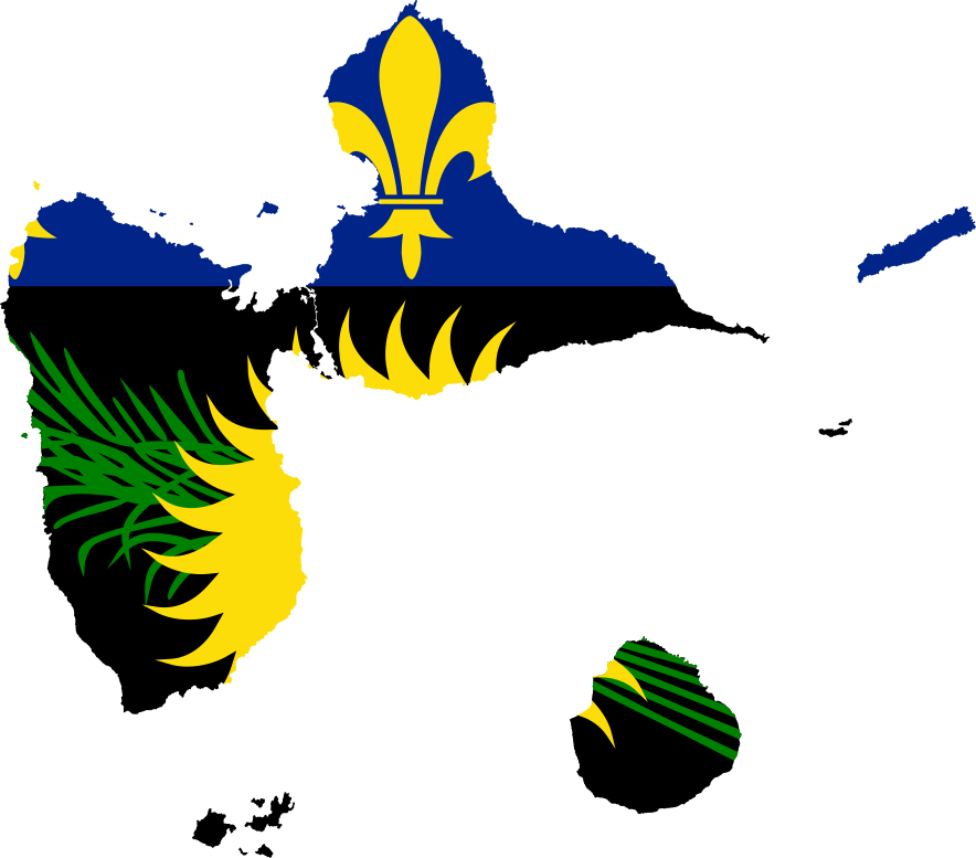 Fileflag Map Of Guadeloupe Local Svg Wikimedia Commons