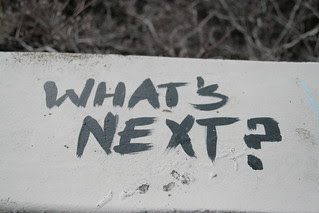 What's Next ? by Crystl from Flickr under CC