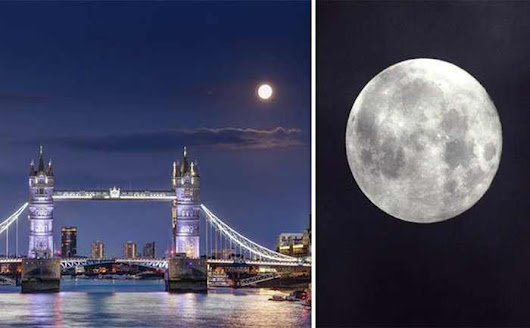 Why is the Moon so BIG tonight? Stargazers prepare for dazzling Moon