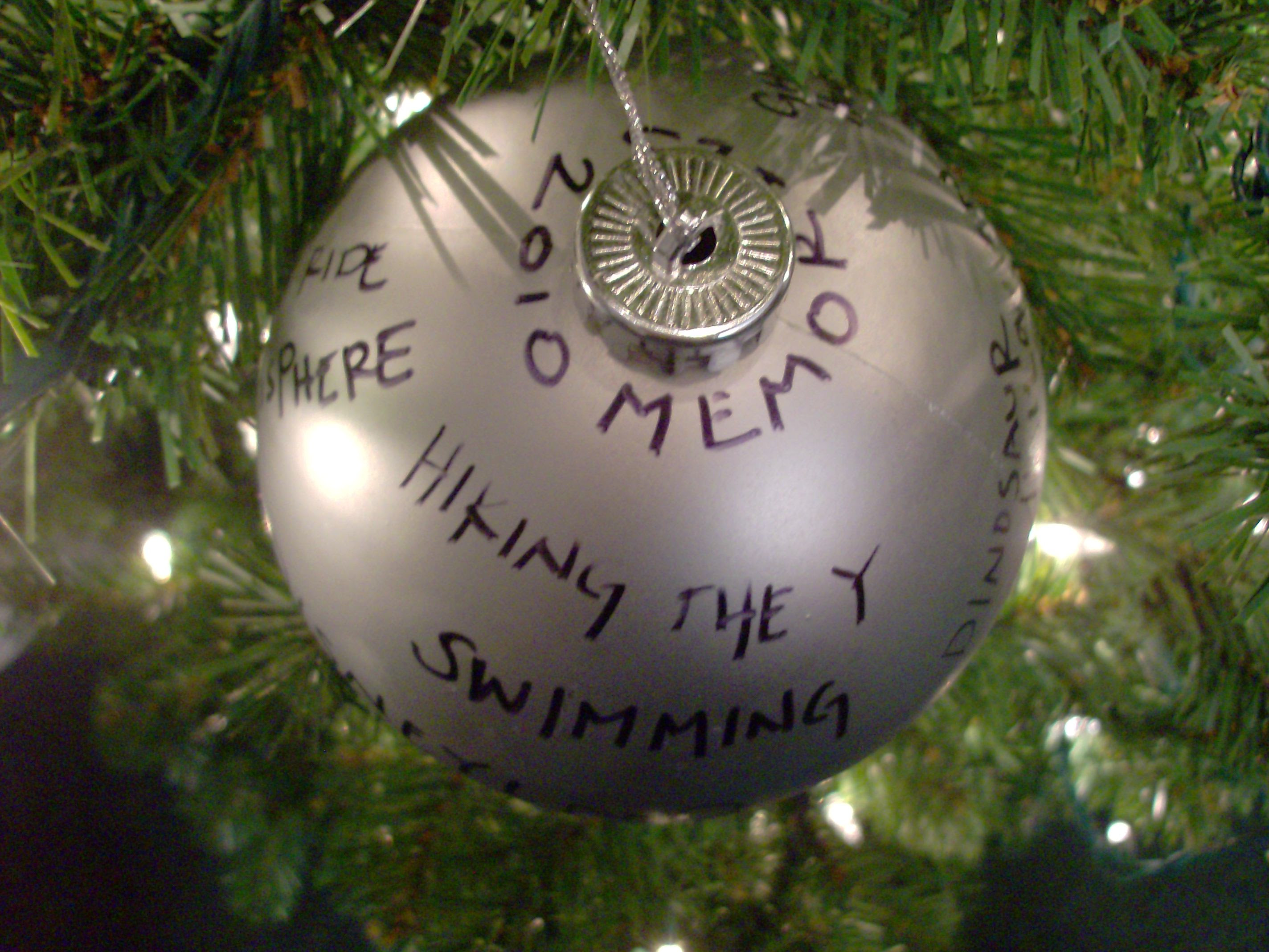 Dollar Store Craft Memories Homemade Christmas Ornament Mommysavers