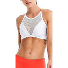 CajuBrasil Sports Bra Top - Fashion Black or WHITE-M / White