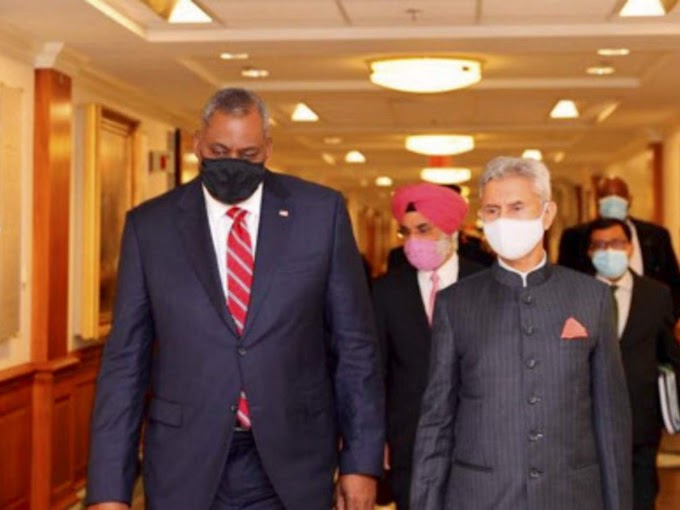 Foreign minister S Jaishankar, US defence secretary hold talks on security