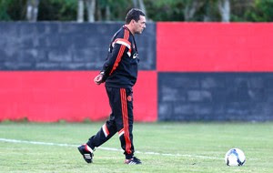 Vanderlei Luxemburgo Treino Flamengo (Foto: Alexandre Cassiano / Agência o Globo)