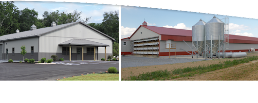 SK Construction Building Pole Barns, Garages, Dairy & Horse Barns in PA