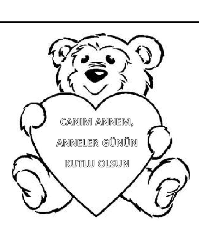 Anneler Günü Boyama Sayfaları Sayfa 4 4 Arabulokucom