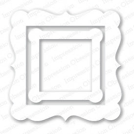 Square Shaker Frame Die - TEMPORARILY OUT OF STOCK