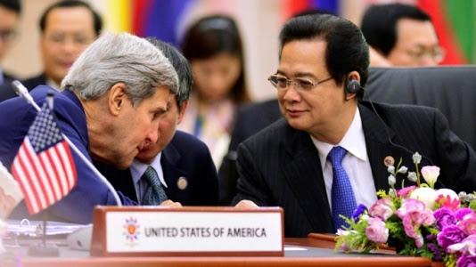 John Kerry thăm Việt Nam, ADIZ, Mỹ, xoay trục châu Á
