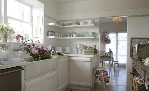 Small Country Chic Kitchen Curtains - Interior Design Decor