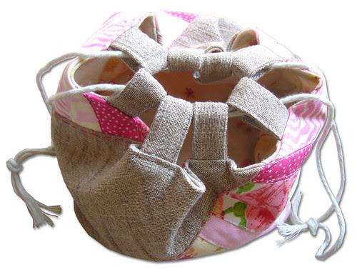Little Pink Patchwork Bag