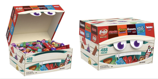Walmart's 488-Piece Halloween Candy Box Is The Best $30 You'll Ever Spend