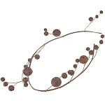 Christmas Jingle Bell Branch Garland, 54-Inch Rustic