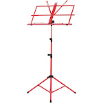 foldable sheet music tripod stand holder lightweight with water-resistant carry bag for violin piano guitar instrument performance