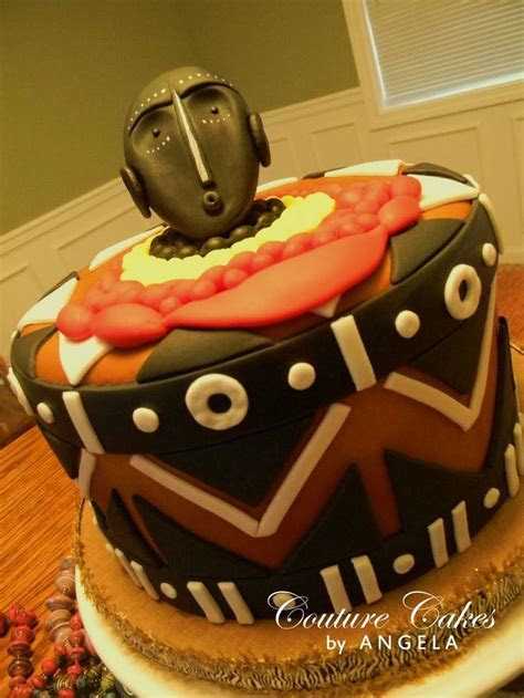 Best 19 Africa inspired cake designs images on Pinterest
