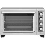 KitchenAid - KCO253CU Convection Toaster/Pizza Oven - Contour silver