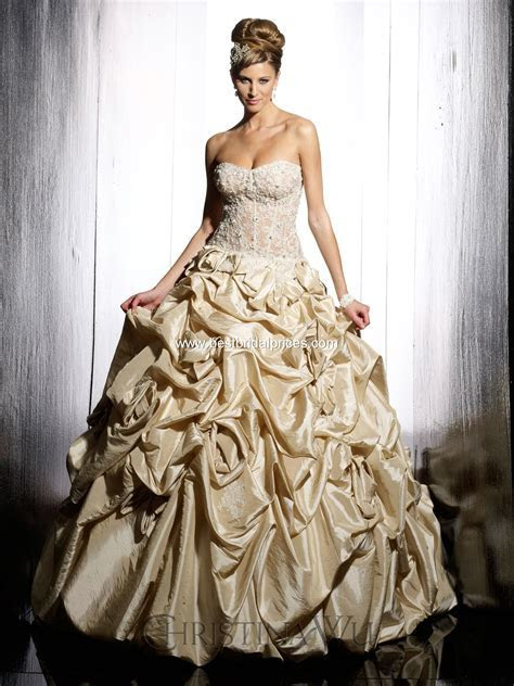 Top Ten Wedding Dress Style in 2013 ? Gold   Wedding