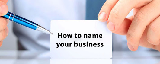 Guide to naming your business or company
