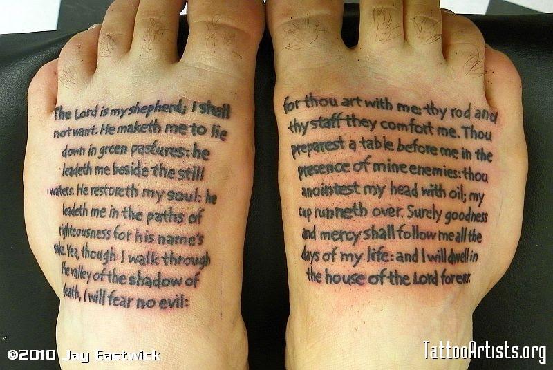 Palmar Verses Tattoo Tattoomagz