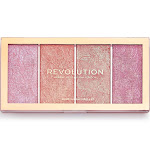 Makeup Revolution Vintage Lace Blush Palette - Pink - 0.18oz