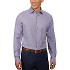 Ben Sherman Men's Dress Shirt, Purple, 15 - 34/35