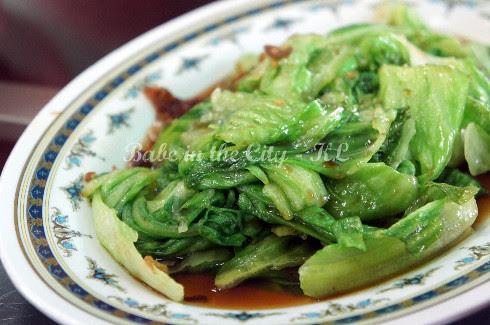 Yau Choy (lettuce)