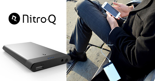 NitroQ - Power Bank That Charges In Just 7 Minutes