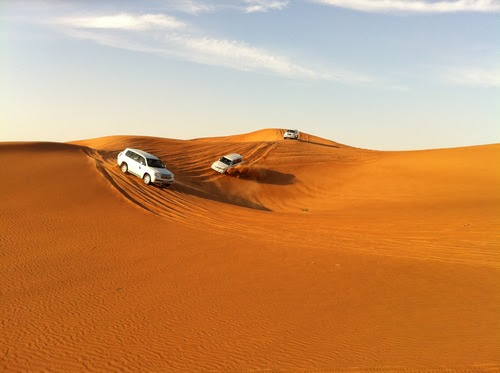 Place to visit in Dubai: Jeopardy Filled Dubai Safari