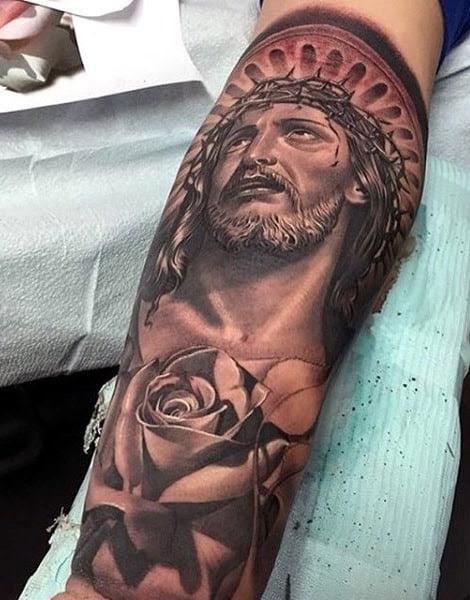 Jesus Tatoos : jesus, tatoos, Unique, Jesus, Tattoos, Gallery