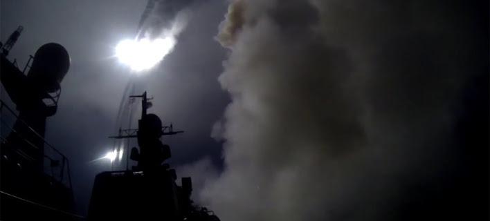 Ρωσικοί πύραυλοι τύπου Κρουζ έπληξαν στόχους του Ισλαμικού Κράτους, κοντά στην Παλμύρα