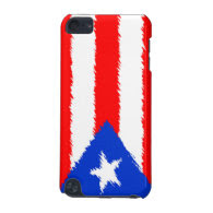 Puerto Rican Flag iPod Touch 5G Cover
