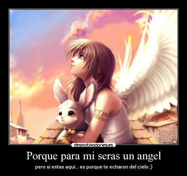 Animes De Angeles Con Frases De Amor Imagui
